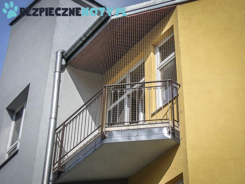 Montaż Siatki Ochronnej Na Balkon Siatki Balkonowe Dla Kota