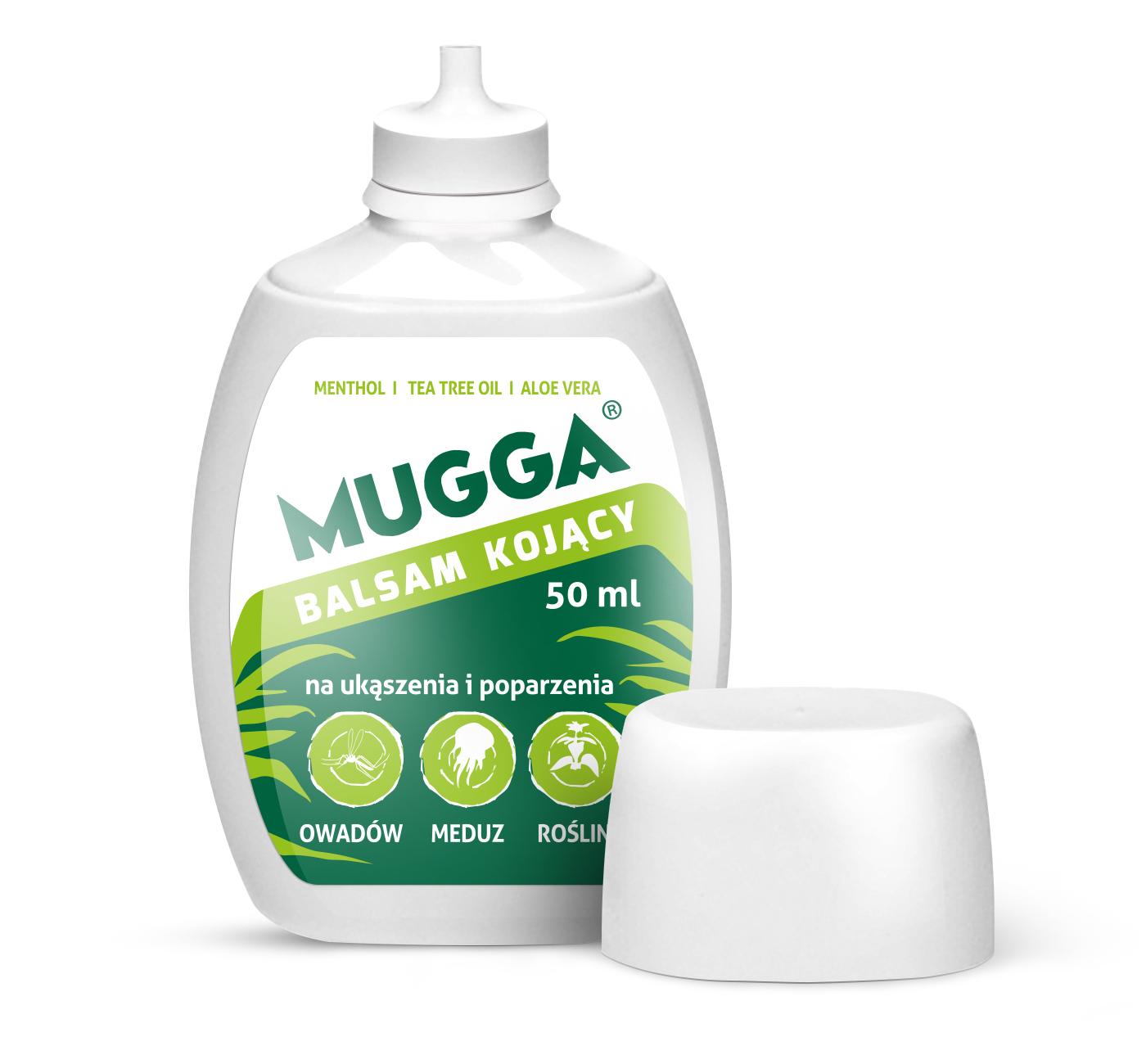 Balsam kojący MUGGA na ukąszenia 50 ml