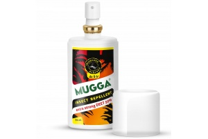 Preparat na komary tropikalne. Mugga Strong Spray 50% DEET!